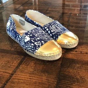 Lilly Pulitzer  Target Slip on Shoes. NEW w/o tags